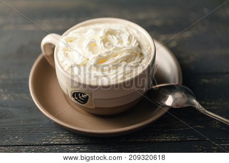 Frappuccino Coffee, Cup Of Coffee With Cream, Italian Delicious Beverage