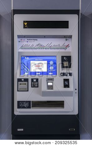 Malaysia Mrt Ticket Vending Machines