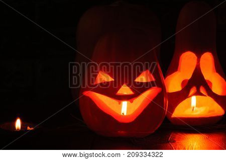 Halloween is an eerie holiday of autumn. October 31.