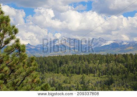 The lookout at Mancos State Park, Colorado