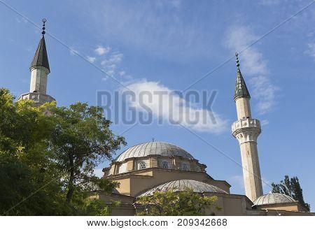 Juma-Jami Mosque in the city of Evpatoria, Republic of Crimea, Russia