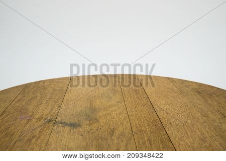 backgroundwood from a brown old oak barrel isolated