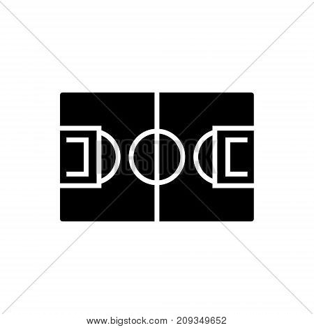 soccer icon, illustration, vector sign on isolated background