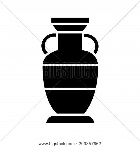 vase interior icon, illustration, vector sign on isolated background