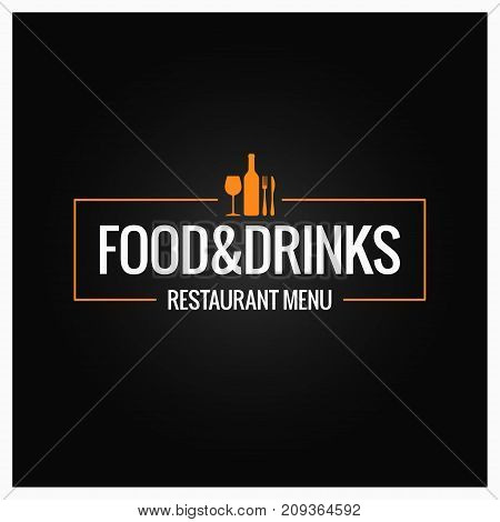 food and drink menu background 10 eps