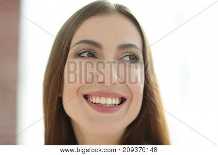 portrait of a beautiful successful woman