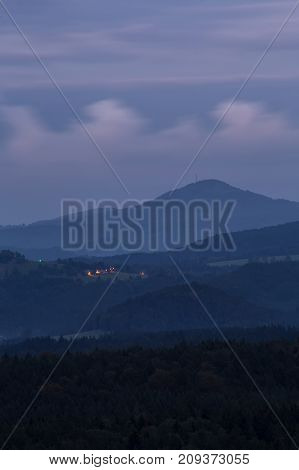 The Hills Of The Czechs Before Dawn