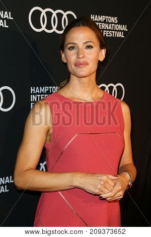 "NEW YORK-OCT 6: Jennifer Garner attends ""The Tribes of Palos Verdes"" premiere at UA2 East Hampton Cinema 6 at 2017 Hamptons International Film Festival on October 6, 2017 in East Hampton, New York."