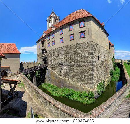 RIEGERSBURG AUSTRIA 26 June 2017- Riegersburg Castle above the town of Riegersburg in Styria Austria