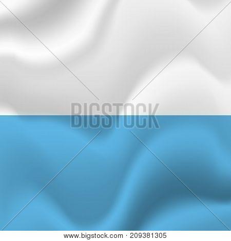 San Marino waving flag. Waving flag. Vector illustration.