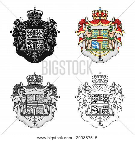 Arms, single icon in cartoon style.Arms, vector symbol stock illustration .