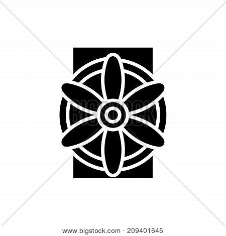 generator icon, illustration, vector sign on isolated background