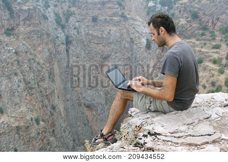 I live on my laptop as I travel using it to write work stay in touch with family and friends