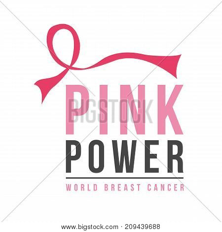 Fight cancer day background design vector illustration