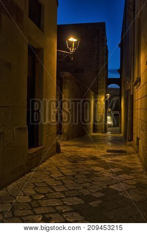 Glimpse of the beautiful old town of Otranto