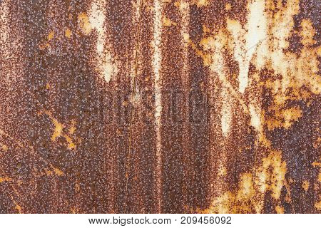 Abstract corroded colorful rusty metal background. Metal corroded texture. Abstract art background