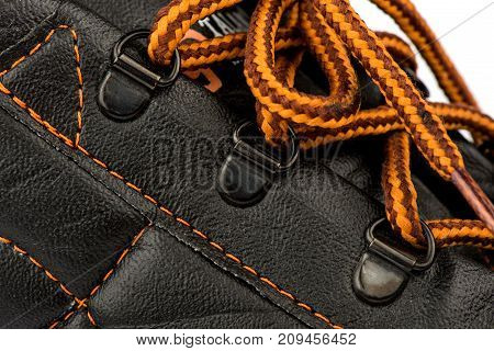 shoes for work, boots with protection, boots, men's shoes, shoelaces, lace