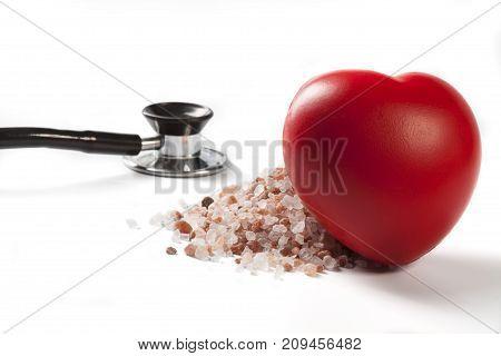 Heart Leaning On Salt