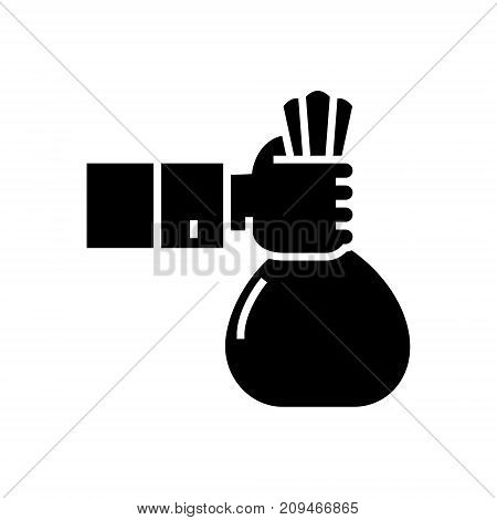 investment - sponsor - funding icon, illustration, vector sign on isolated background