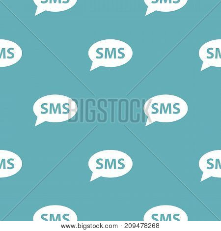 SMS pattern seamless blue. Simple illustration of  vector pattern seamless geometric repeat background