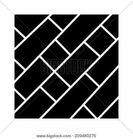 parquet icon, illustration, vector sign on isolated background