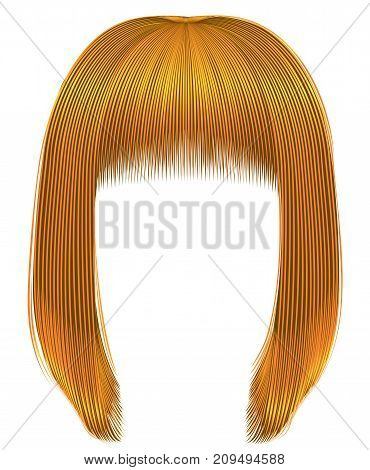trendy hairs bright yellow colors . kare fringe . beauty fashion