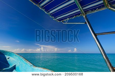 Yacht Sails On The Sea