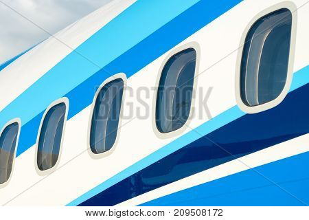 Airplane Windows In Passenger Aircraft