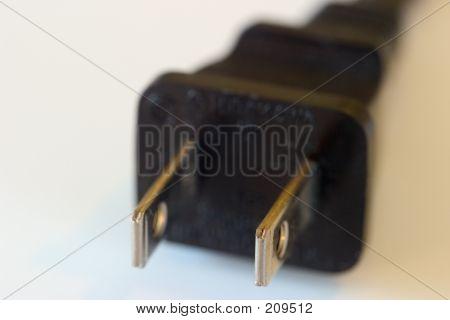 Electrical Plug, Macro