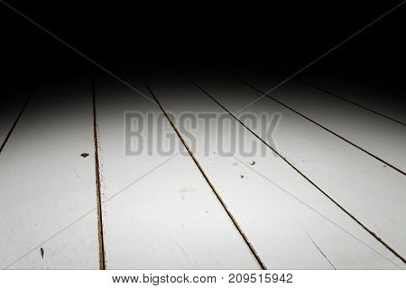 White Plank Wood Floor Texture Perspective Background For Display Or Montage Of Product,mock Up Temp
