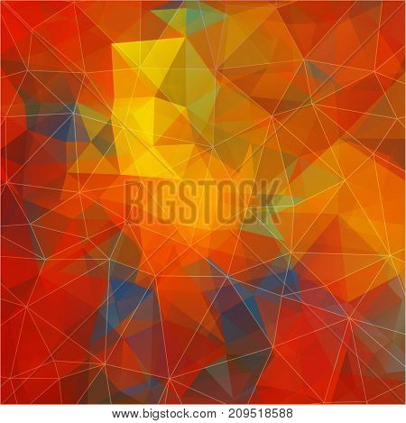 Flat background with geometric figures. Flat Vector background