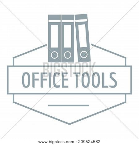 Office tool logo. Simple illustration of office tool vector logo for web