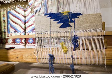 Weaving Machine For Chiprovtsi Carpets (rugs)