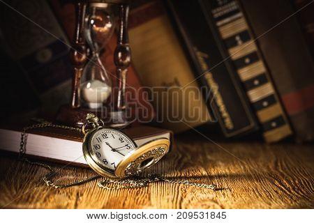 Watch books pocket watch luxury elegance golden antique