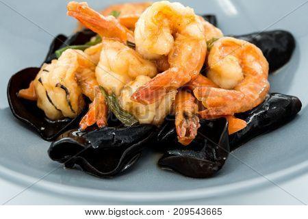 wok fried Shrimp stir fry
