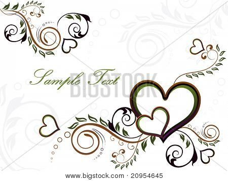 vector illustration of wallpaper for valentine day