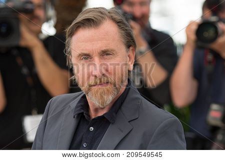 CANNES, FRANCE - MAY 22, 2015: Tim Roth attends the 'Chronic