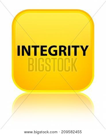 Integrity Special Yellow Square Button