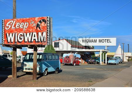 Wigwam Motel On Historic Route 66