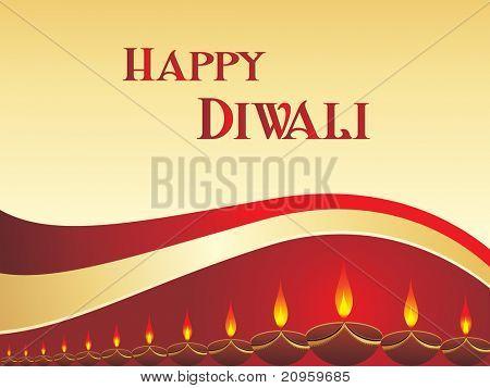 beautiful elegant diwali background, illustration