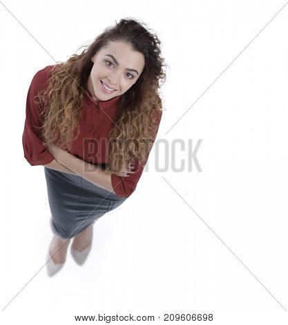 closeup.confident business woman.