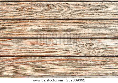 Dry wooden planks texture for your design. Aged rural fence background.