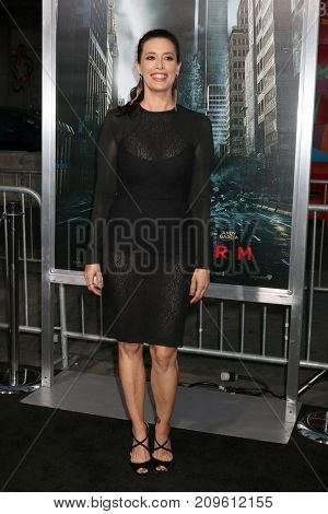 LOS ANGELES - OCT 16:  Angie Cepeda at the Geostorm Premiere at the TCL Chinese Theater IMAX on October 16, 2017 in Los Angeles, CA