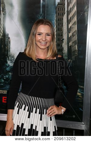 LOS ANGELES - OCT 16:  Beverly Mitchell at the Geostorm Premiere at the TCL Chinese Theater IMAX on October 16, 2017 in Los Angeles, CA
