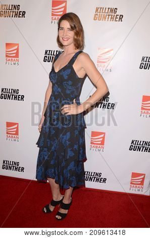 LOS ANGELES - OCT 14:  Cobie Smulders at the