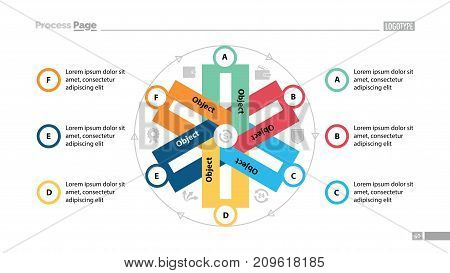 Cycled chart design. Element of chart, diagram, infographic. Concept for slide template, annual report, presentation. Can be used for topics like business, finance, money