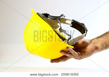 Tools For Workshop Work. Drill, Grinder, Scoop And Screwdriver. White Background.