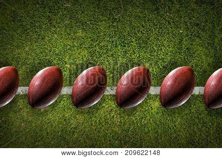 Rugby game concept