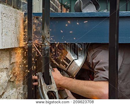 Welder Welding Post Seam