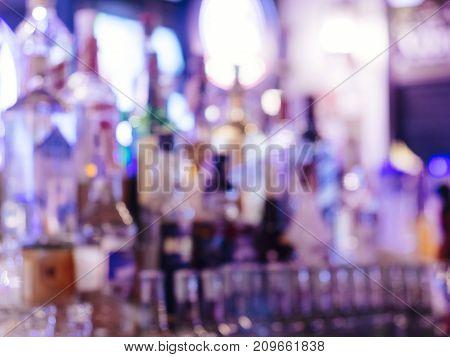 Blur Bar Wine Bottle Alcohol drink Pub Party nightlife Background